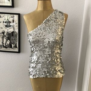 Laundry Sequin Blouse
